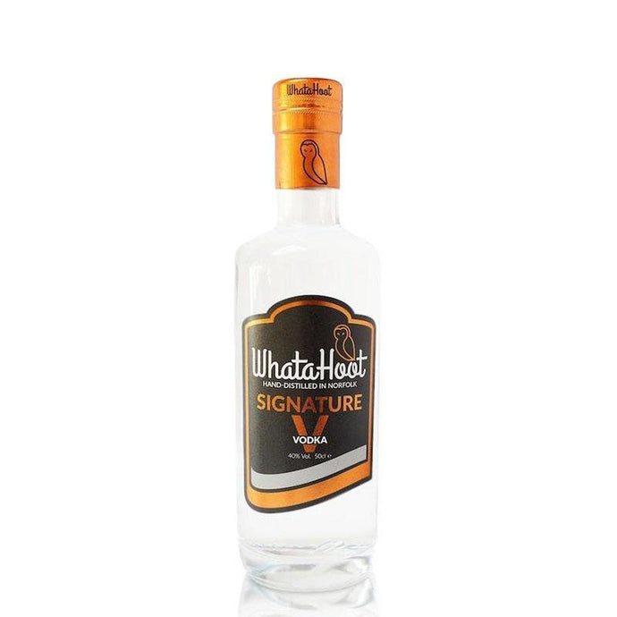 Signature V Vodka 50cl (40% abv) - WhataHoot Gin