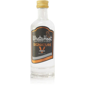 Signature V Vodka 5cl (40% abv) - WhataHoot Gin