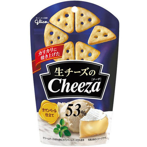 Glico Cheeza Crackers de Queso Camembert 40g - Japanese-taste