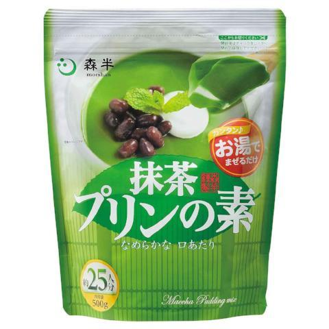Morihan Matcha Pudding Mix Professional Use 500g