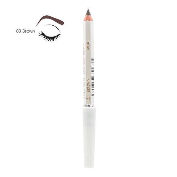 Shiseido Eyebrow Pencil – Black / Dark Brown / Brown / Gray - Japanese Taste
