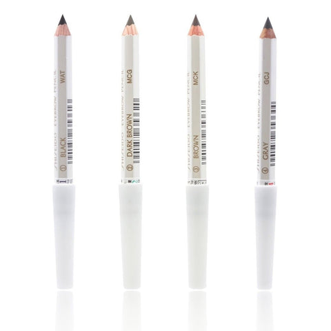Shiseido Japan Eyebrow Pencil for Makeup – Black / Dark Brown / Brown / Gray