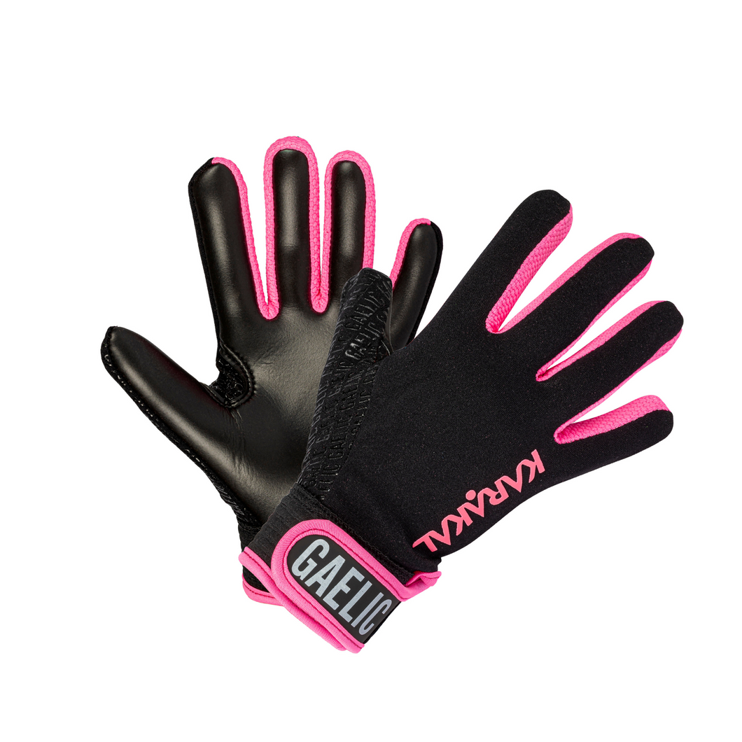 Karakal Club Glove - Black/Pink