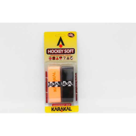 Karakal Hockey Soft Overwrap Grip - Assorted - 2pk