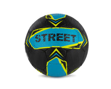 Load image into Gallery viewer, Street Soccer Ball- Neon Blue