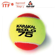 Load image into Gallery viewer, Karakal Solo 75 Tennis Balls - Red (x12)