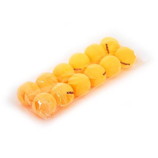 Karakal Table Tennis Balls - Orange (x12)