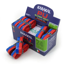 Load image into Gallery viewer, Karakal Duo Grip- Blue/Red