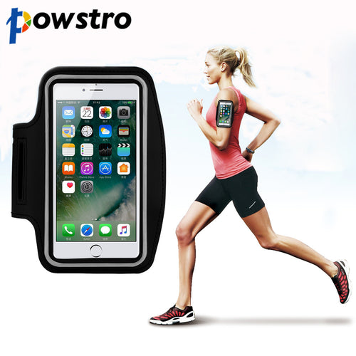 Great for Active Armband Phone Holder Bag Pouch Touch Screen Access for iPhone 7 Plus 6 6S Plus Samsung S6Jogging