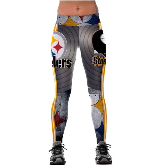 Pittsburgh Steelers yoga pants New Fashion Women Leggings High Waist 3d Print Fitness