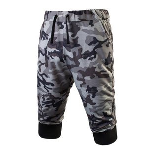 Men Sport Gym Fitness Jogging Elastic Stretchy Bodybuilding Sweatpants Camo
