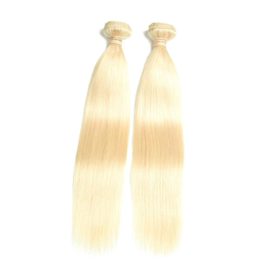 Brazilian Blonde Straight Virgin Hair Extensions By Soie Virgin Hair Extensions in Atlanta. 404-669-6832