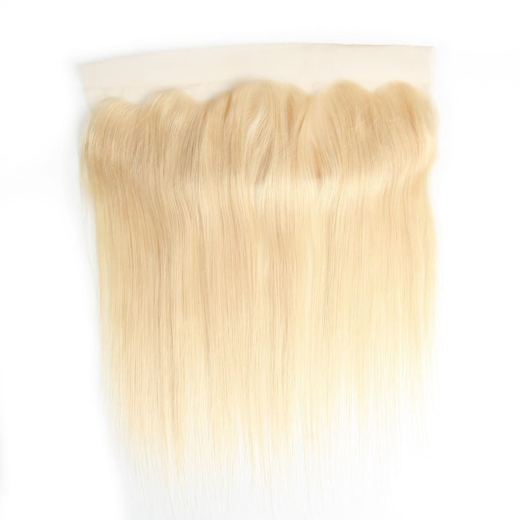 Brazilian Straight Blonde Hair Frontals - Brazilian Virgin Hair Extensions