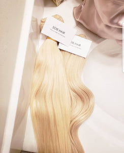BUNDLE DEAL: BRASILIAN BLONDE STRAIGHT VIRGIN PERLUASAN RAMBUT MANUSIA