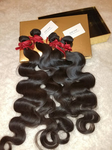 AKW BUKWỌ AKNDKỌ: BRAZILIAN BODY WAVE VIRGIN HUMAN HAIR HXTANSIONS