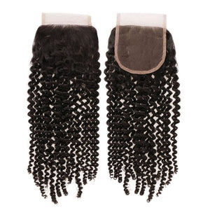 Natural Kinky Coily Closures - Extensiones de cabello