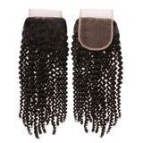 Natural Kinky Coily Closures - Hair Extensions