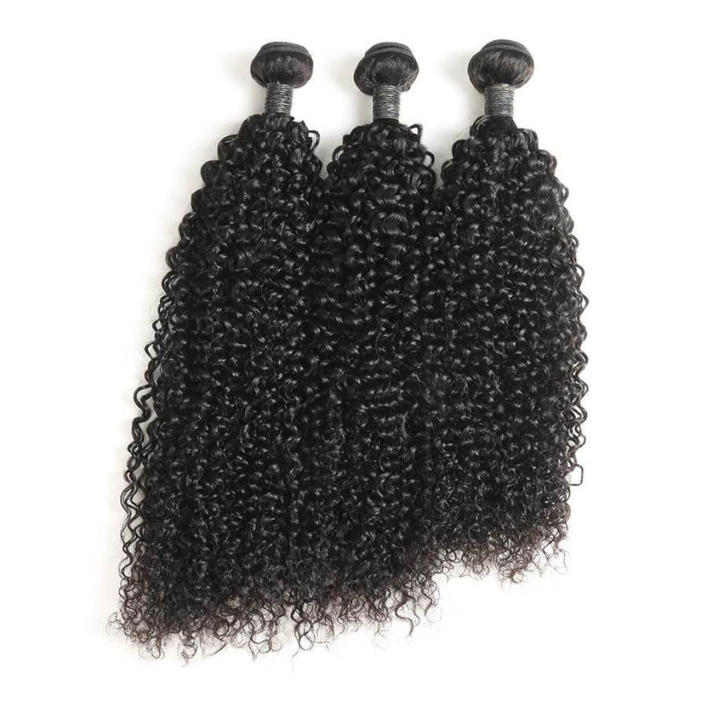 Kinky Natural Curly Hair Extensions - Hair Extensions