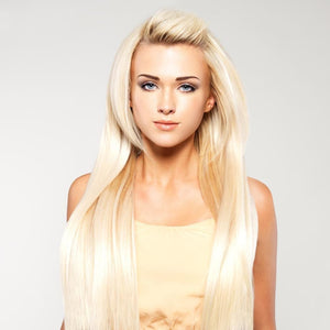 Raw Indian/mink Straight Blonde Hair Extensions - Hair Extensions
