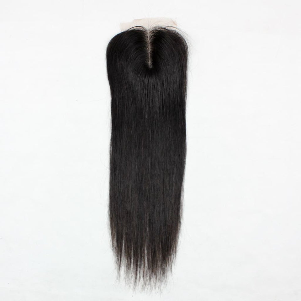 Raw Indian/mink Straight Hair Closures - Hair Closures