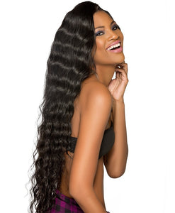 Raw Indian/Mink Natural Curl Virgin Human Hair Extensions