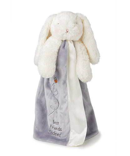 Bloom Bunny Buddy Blanket - grey