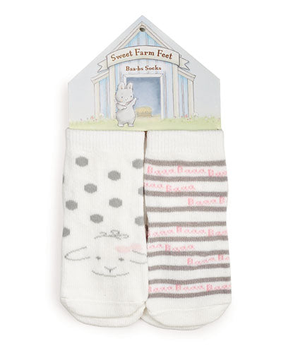 Farm Bunsie Baa-bs Gift Set