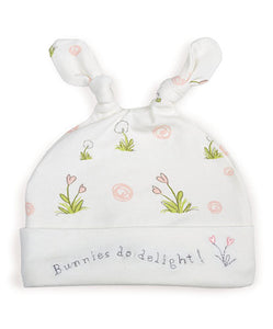 Delightful Knotty Nighty & Night Cap 0-3 months