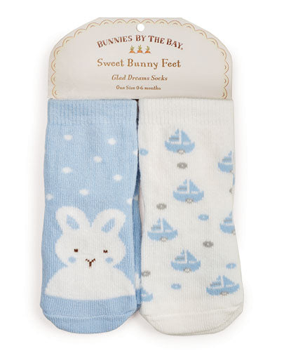Best Friends Socks - 2 pair 0-6 months
