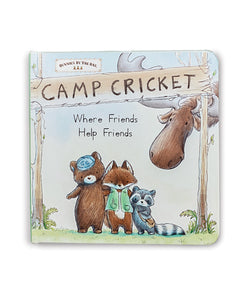 Camp Cricket Board Book