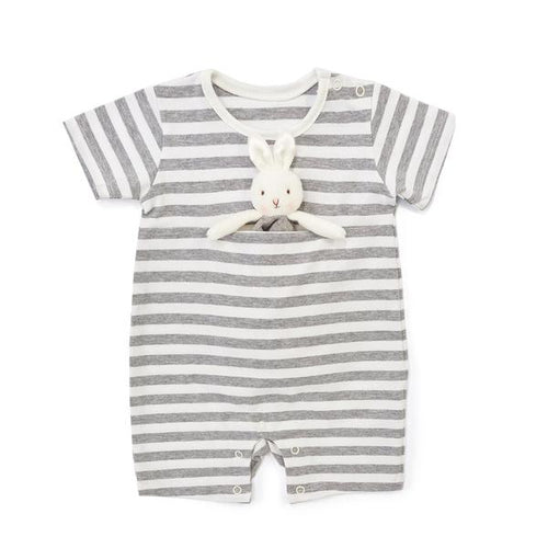 BLOOM ROMPER WITH BINKIE