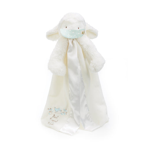 Kiddo the Lamb Buddy Blanket with Face Mask