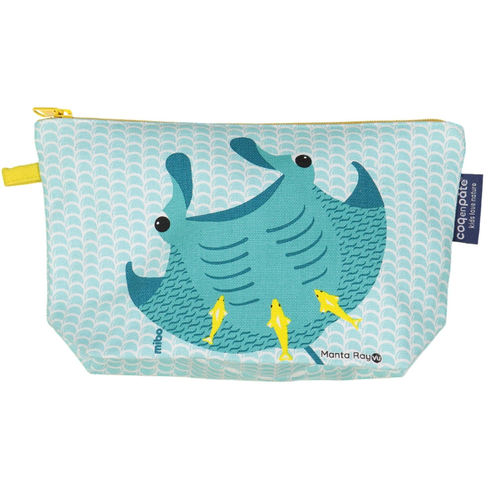 CEP - Manta Ray Pencil Case