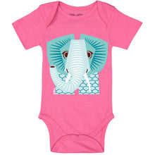 CEP - Elephant (Pink) Short Sleeves Bodysuit