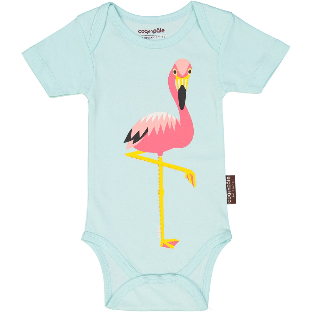 CEP - Flamingo Short Sleeves Bodysuit