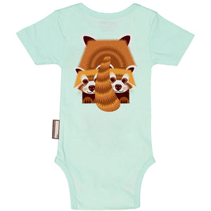 CEP - Red Panda Short Sleeves Bodysuit