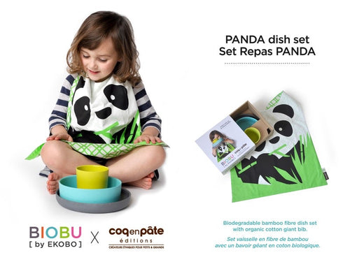 CEP - Biobu Panda Dinnerware Set - LIMITED EDITION