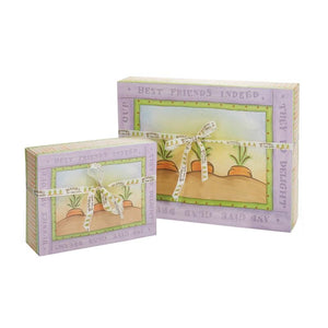 A LOVEY STORY - BOOK AND BUNNY GIFT SET