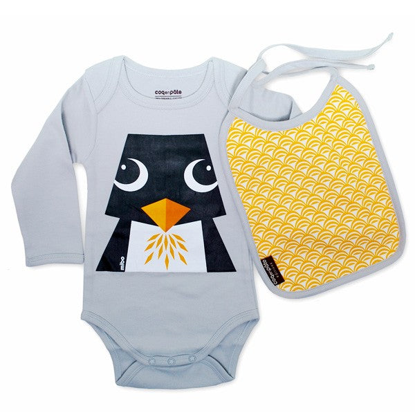 CEP - Penguin Long Sleeves Bodysuit