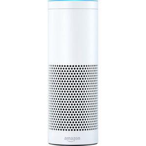Amazon Echo 1st Gen w Alexa Voice Personal Assistant & Bluetooth Speaker, Black or White