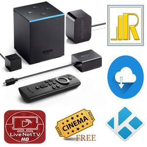 Jailbroken Amazon Fire TV Cube New Alexa Remote 4 Elite Kodi 18 Builds 35+ Apps