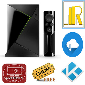 Fully Loaded 2017 NVIDIA SHIELD TV Box w Handheld Remote 4 Elite Kodi 18.5 Builds