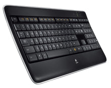Logitech K800 Wireless Illuminated Keyboard — Backlit Keyboard, Fast-Charging