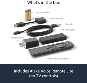 Jailbroken Fire TV Stick Lite 2020 with Alexa Voice Remote Lite Elite Kodi Builds 20+ Apps etc.