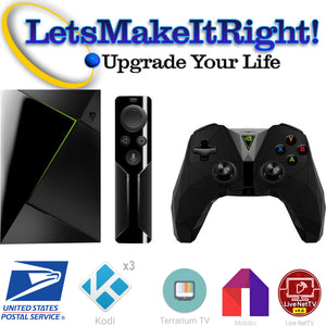 Professional Kodi Installation Service- Mail Us Your NVIDIA Shield TV