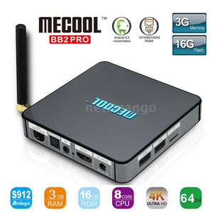 Mecool Bb2 Pro 16G 3Gb Ram Octa Core Live Sports Ppv Tv Shows Movies