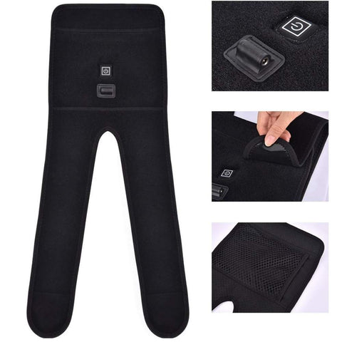 Heated Knee Support Brace | Heating Therapy Infrared Kneepad Joint Pain