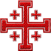 Asclepius Rod Logo (Jerusalem Cross)