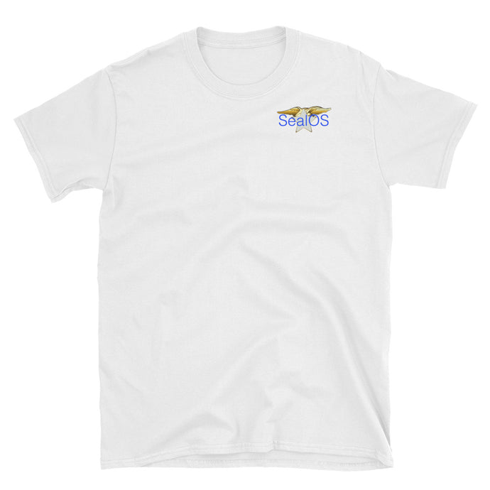 SealOS #1 Short-Sleeve Unisex T-Shirt (White)