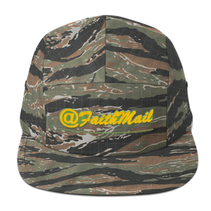 FaithMail #1 - Five Panel Cap (Camo)